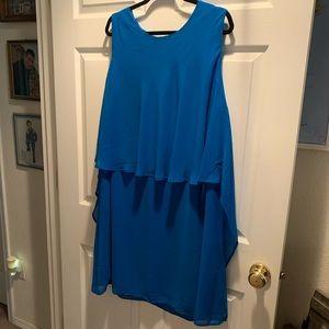 Sheath Dress w/Overlay -Women's Size 20W